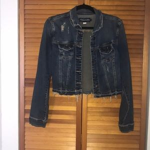 Cropped Denim Jacket from Maurice's